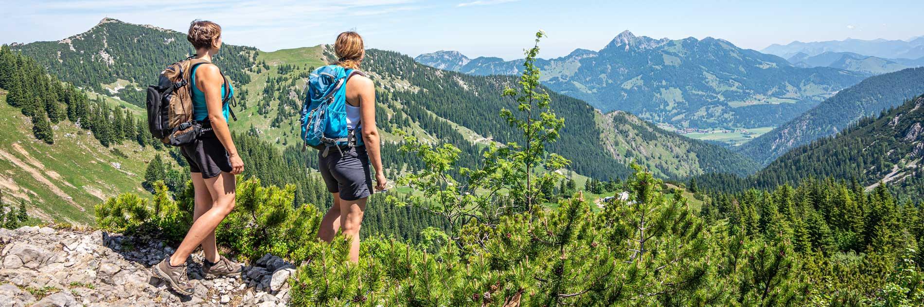 Der Hochsitz - Wandern in den bayrischen Bergen